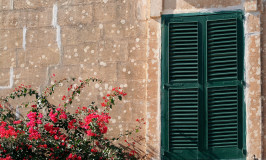 Shuttered Window; Mdina, Malta